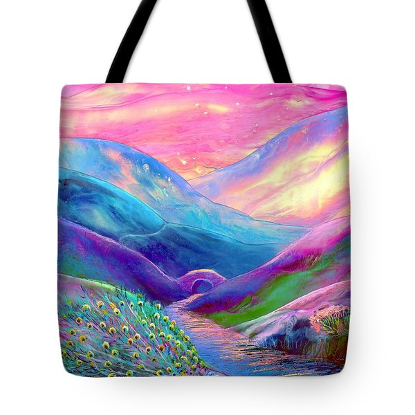 Peacock Magic Tote Bag