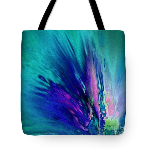 Peacock Paradise Tote Bag