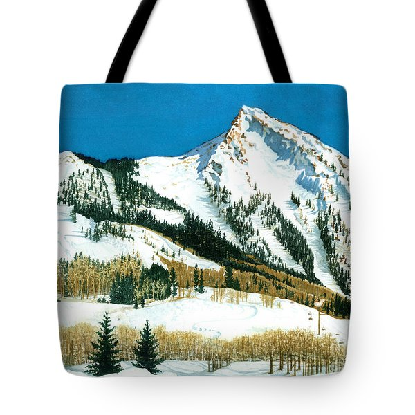 Peak Adventure Tote Bag by Barbara Jewell