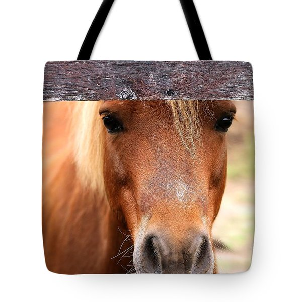 Peaking Pony Tote Bag