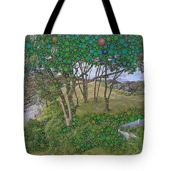 Dawn At Peaks Island Bay Tote Bag