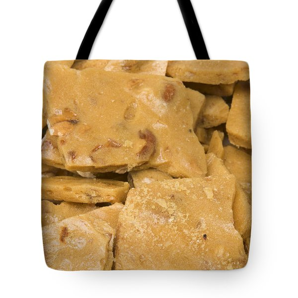 Peanut Brittle Closeup Tote Bag