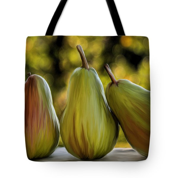 Pear Buddies Tote Bag