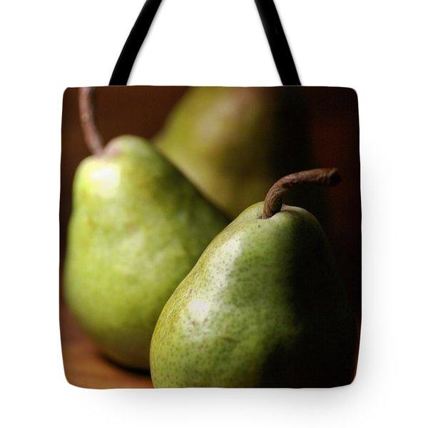 Pear Delight Tote Bag by Joy Watson