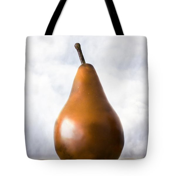Pear In The Clouds Tote Bag by Carol Leigh
