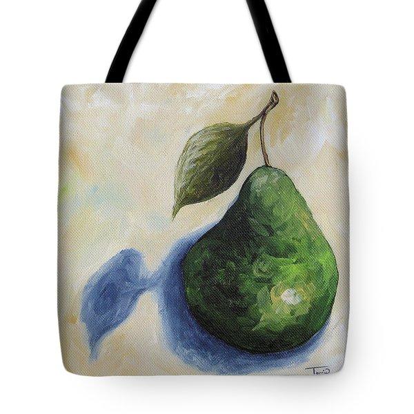 Pear In The Spotlight Tote Bag