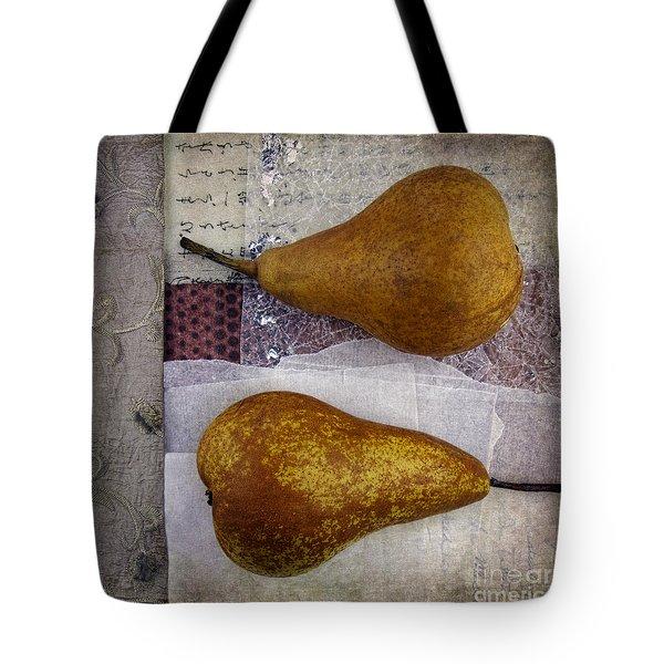Pear Pair Tote Bag