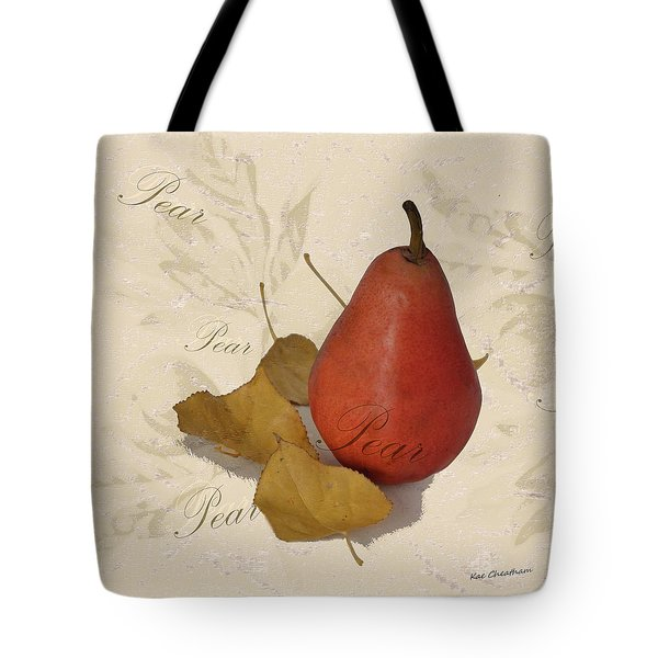 Pear Square Tote Bag