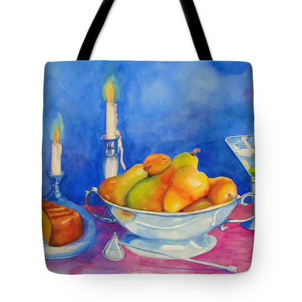 Pearis By Candlelight  Tote Bag
