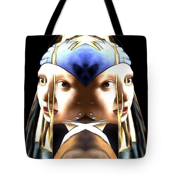 Pearl Earring Pearl Tote Bag