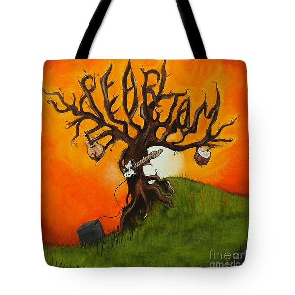 Pearl Jam Tree Tote Bag