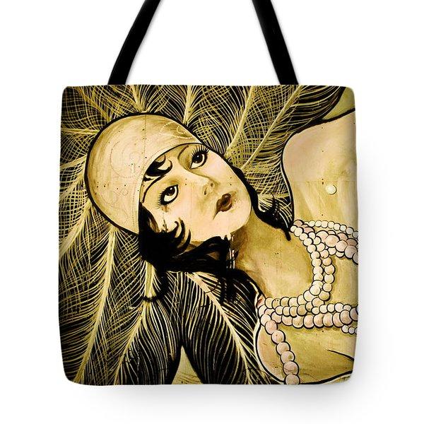 Pearl Mermaid  Tote Bag by Colleen Kammerer