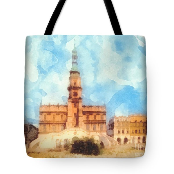 Pearl Of Renaissance Tote Bag by Mo T