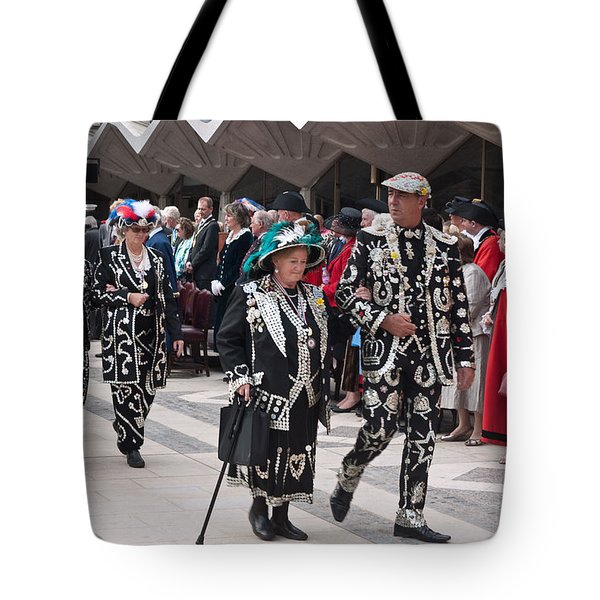 Pearly Kings And Queens Parade. Tote Bag