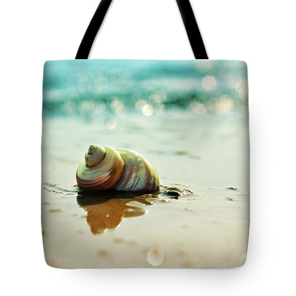 Pearly Shell Tote Bag