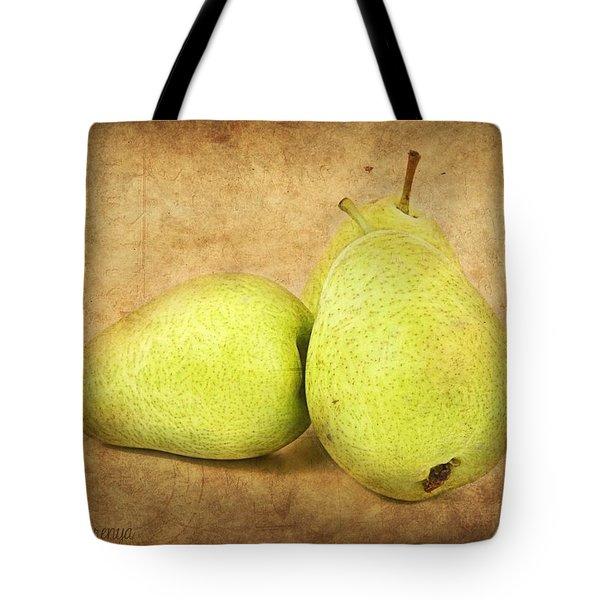 Pears Tote Bag by Barbara Orenya