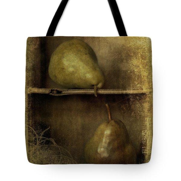 Pears Tote Bag by Priska Wettstein