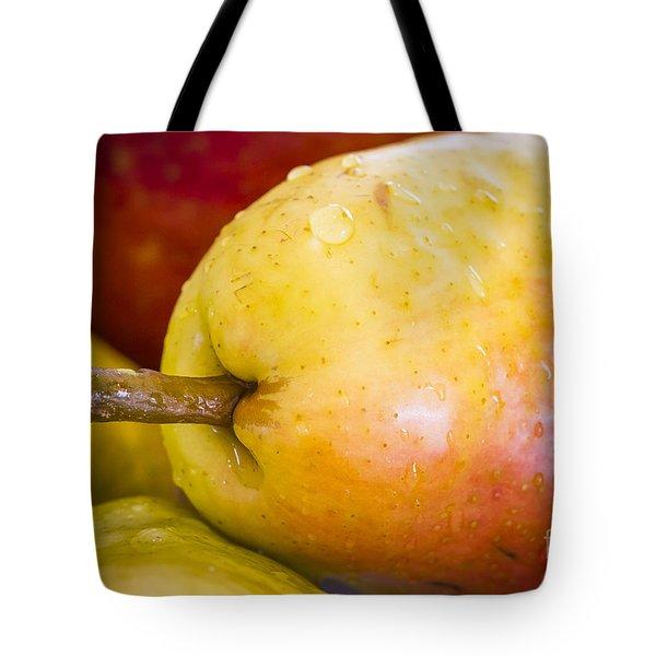 Pears Tote Bag by Warrena J Barnerd