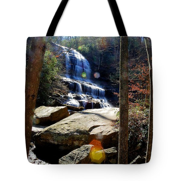 Tote Bag featuring the photograph Pearson's Fall by Joseph C Hinson Photography
