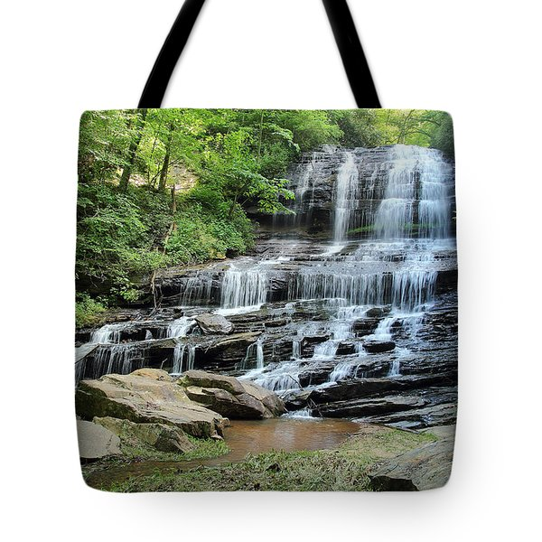 Tote Bag featuring the photograph Pearson's Falls by Joseph C Hinson Photography