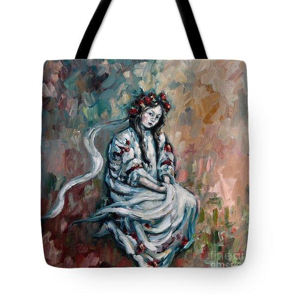 Peasant Of Peace Tote Bag