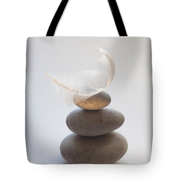 Pebble Pile Tote Bag