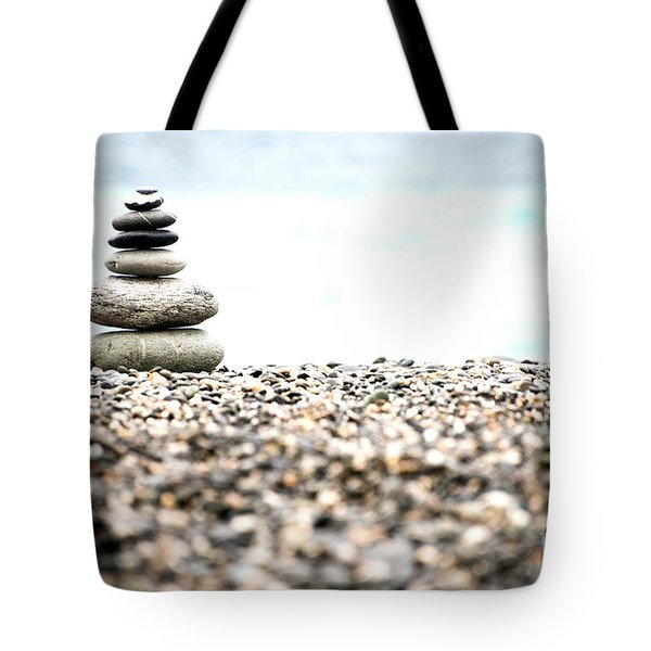 Pebble Stone On Beach Tote Bag