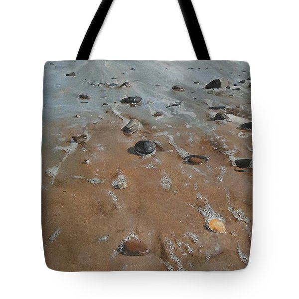 Pebbles Tote Bag by Cherise Foster