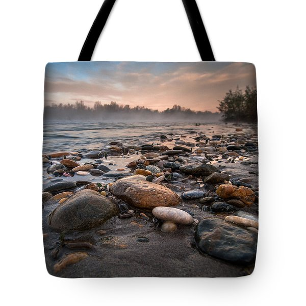 Pebbles Tote Bag by Davorin Mance