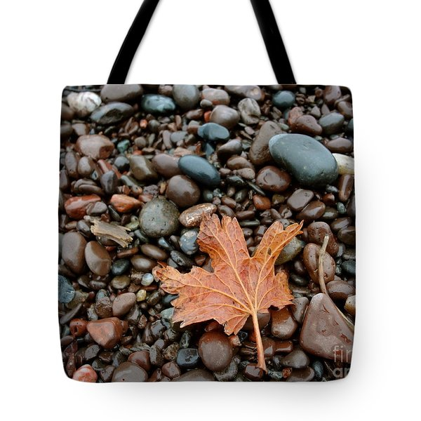Pebbles Tote Bag by Jacqueline Athmann