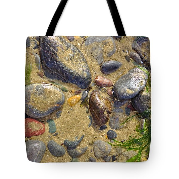 Pebbles On The Beach Tote Bag