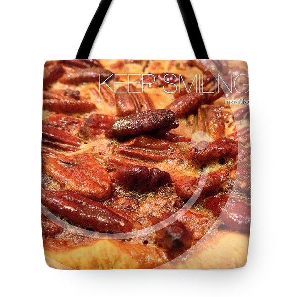 Pecan Pie - Baking On Thanksgiving Eve Tote Bag