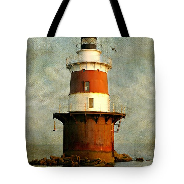 Peck's Ledge  Tote Bag by Diana Angstadt