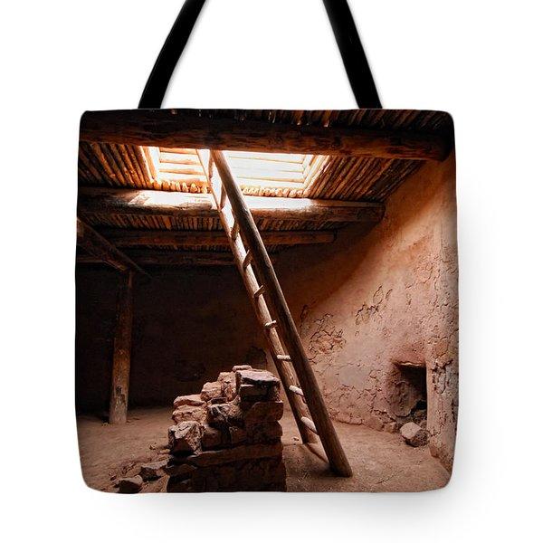 Pecos Kiva Ladder Tote Bag