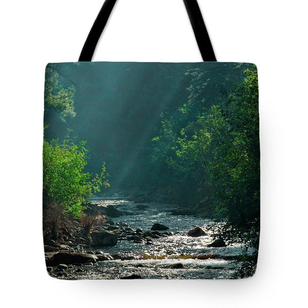 Pecos River Spring Tote Bag