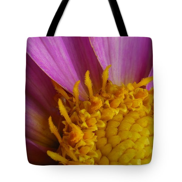 Tote Bag featuring the photograph Pedal Burst by Arthur Fix