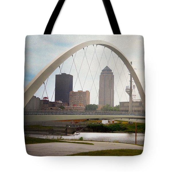 Pedestrian Bridge Tote Bag