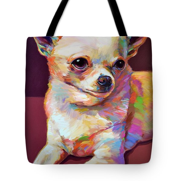 Pedro Tote Bag by Robert Phelps