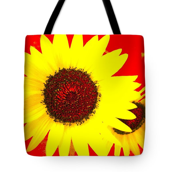 Tote Bag featuring the photograph Peek A Boo by Kathy Barney