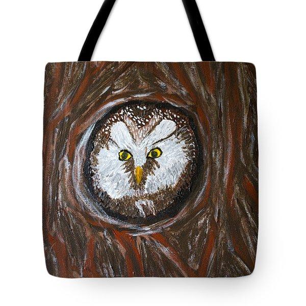 Peek A Boo Tote Bag by Lloyd Alexander