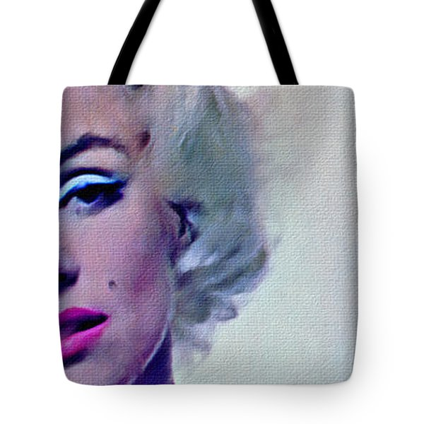 Peek A Boo Marilyn  Monroe Tote Bag