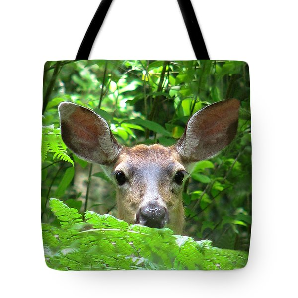Peek-a-boo Tote Bag by Rory Sagner