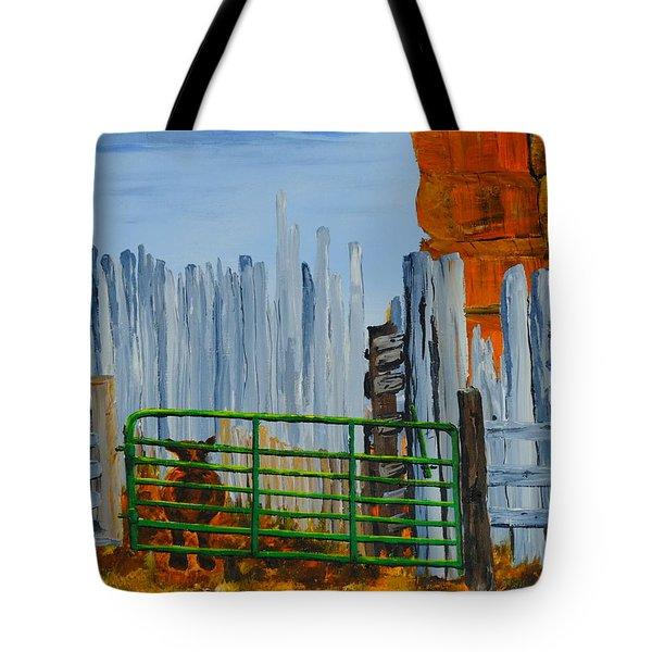 Peek Tote Bag