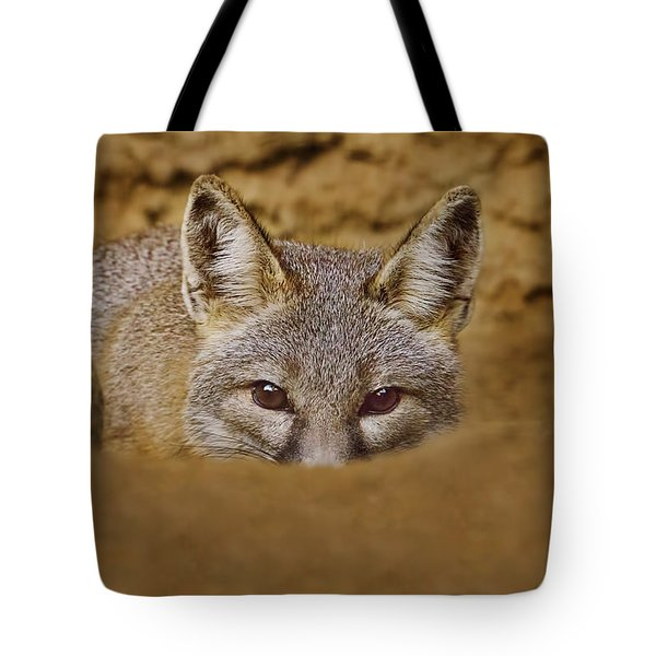Tote Bag featuring the photograph Peekaboo  by Brian Cross