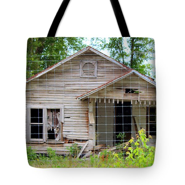 Peeking In At The Past Tote Bag