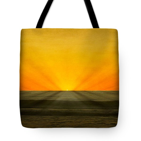Peeking Over The Horizon Tote Bag