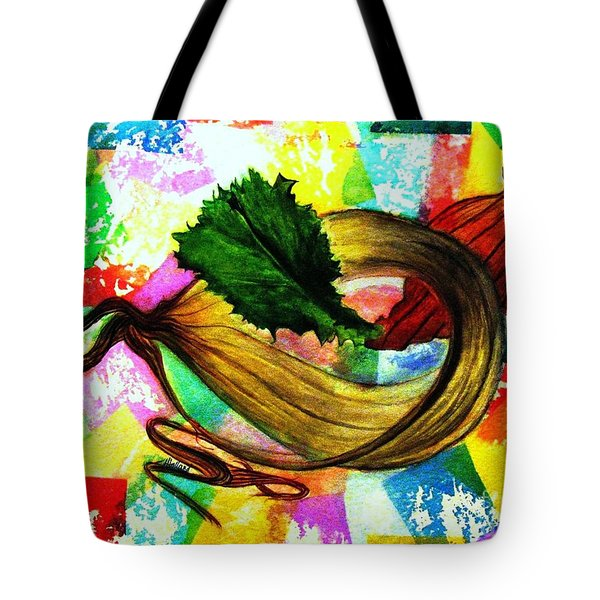 Peeling Back The Layers Tote Bag by Hazel Holland