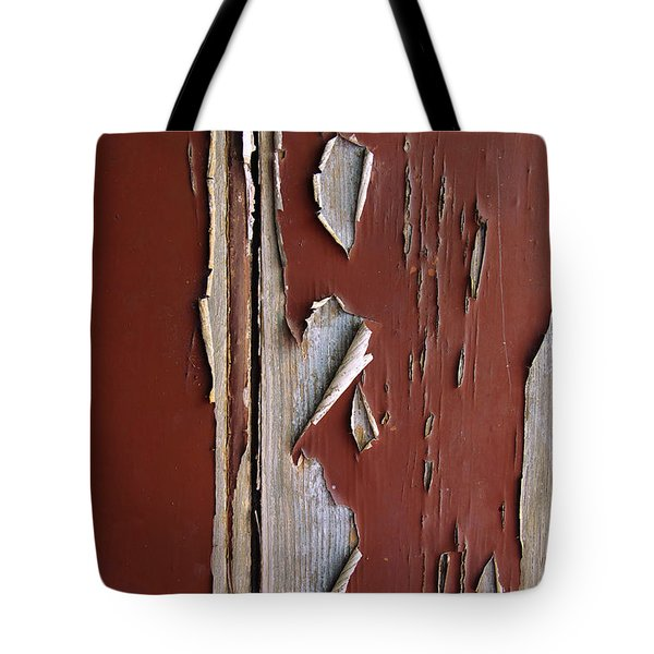Peeling Paint Tote Bag by Carlos Caetano