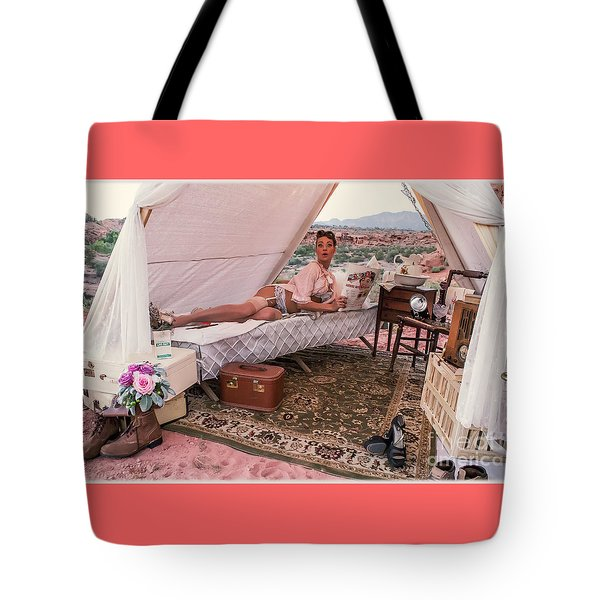 Peeping Tom Tote Bag