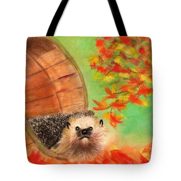 Peevish Porcupine Tote Bag